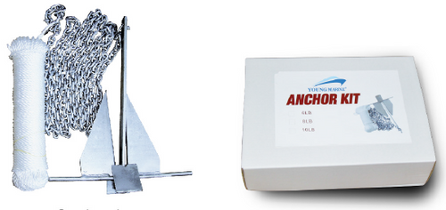 Anchor Danforth Kits 4LBS