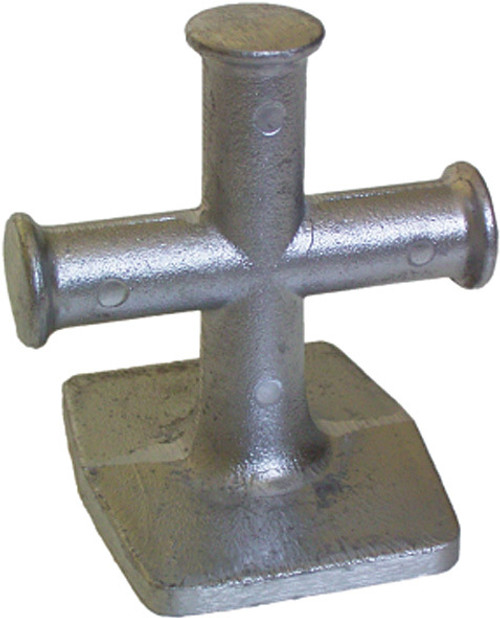 Alloy Cross Bollard 100mm