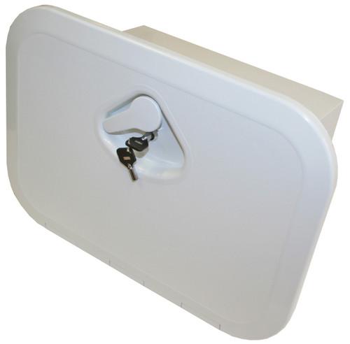 Nuova Rade Hatch -Deluxe Box/Lock Wht