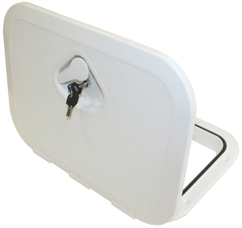 Nuova Rade Hatch -Deluxe with Lock White