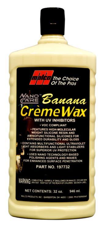 Nano Technology Banana Wax