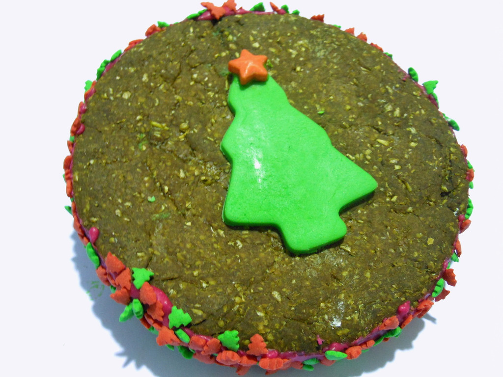 Horse Xmas Cake - Molassses & Oats - 1pce