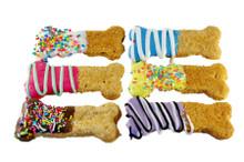 Crazy Bone Dog Cookie Treats 4pce