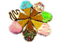 Little Ice Cream Dog Cookies 4pce