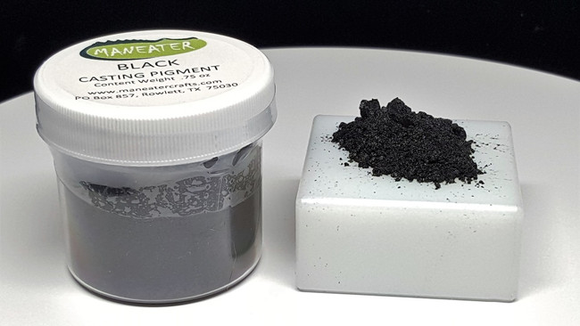 MANEATER CASTING PIGMENT - BLACK