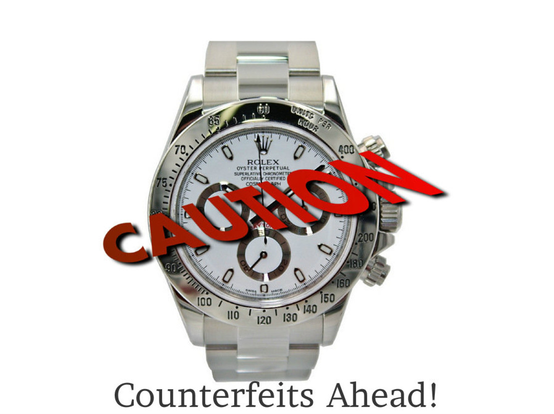 ​The Psychology of Wearing Counterfeit Watches