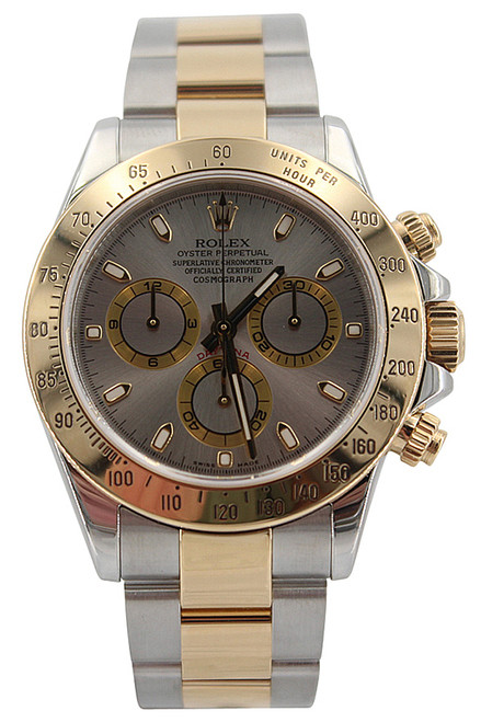 Rolex Oyster Perpetual Cosmograph Daytona-40mm-Two Tone-Ref. 116523