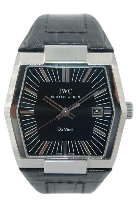 IWC DaVinci - 41x44 - Stainless Steel - Black Dial - Automatic - Ref. IW546101
