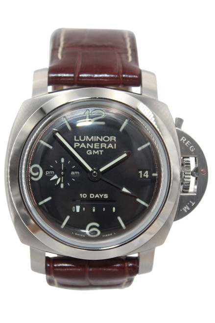 Panerai -  Luminor 1950  - GMT - Stainless Steel - 44mm - 10 Day Power Reserve - Automatic - Ref. Pam 270