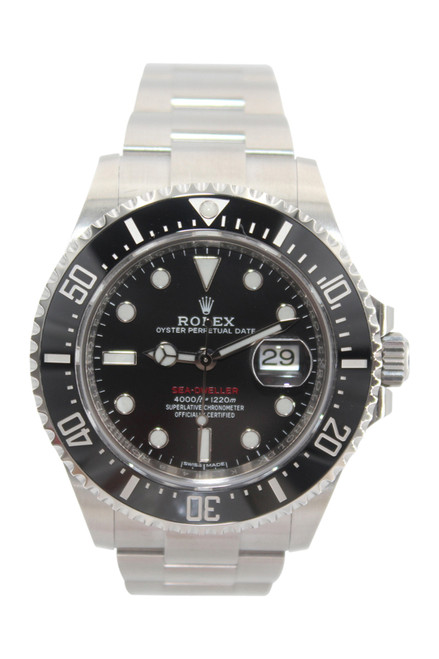 Rolex Oyster Perpetual Sea-Dweller - 43mm - Stainless Steel - Black Ceramic Bezel - Black Dial - Ref. 126600
