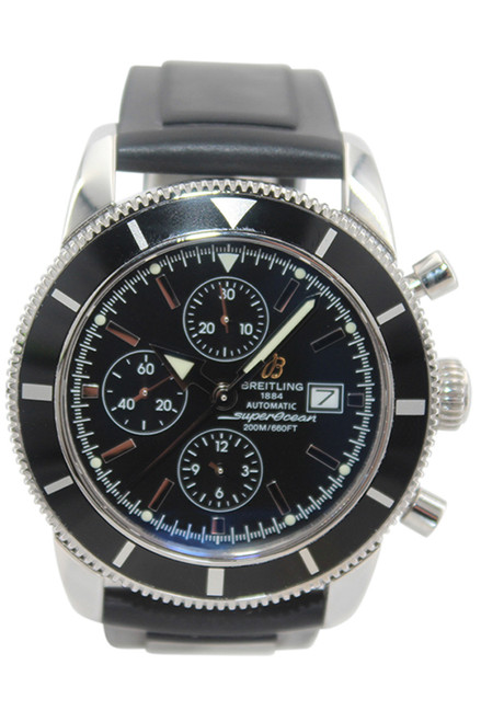 Breitling - Superocean Heritage  -  46mm - Stainless Steel - Black Dial - Black Bezel - Chronograph - Automatic - Ref. A13320