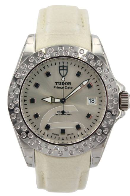 Tudor Prince Date Classic 79420 with Silver Dial