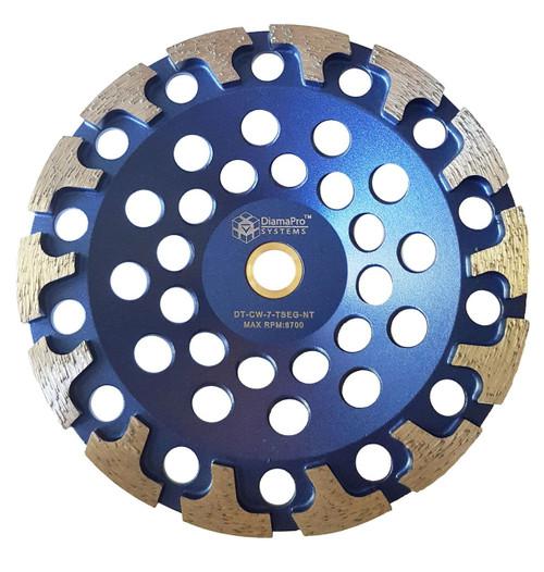"""7"""" T seg Cup Wheel"""
