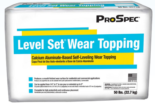 Level Set Wear Topping