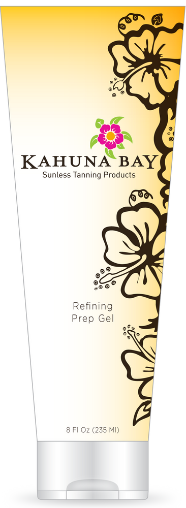 Refining Prep Gel 8oz by Kahuna Bay Tan