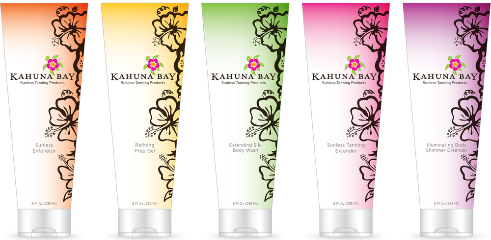 Kahuna Bay Tan Sunless Tanning Products