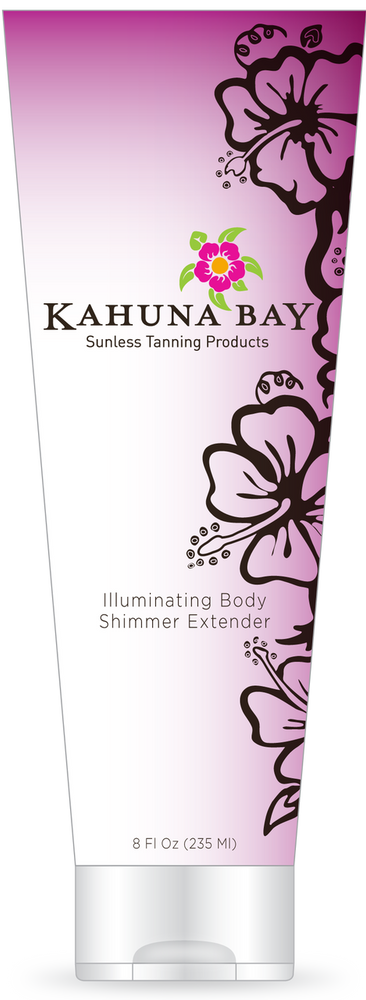 Illuminating Body Shimmer Extender 2oz by Kahuna Bay Tan