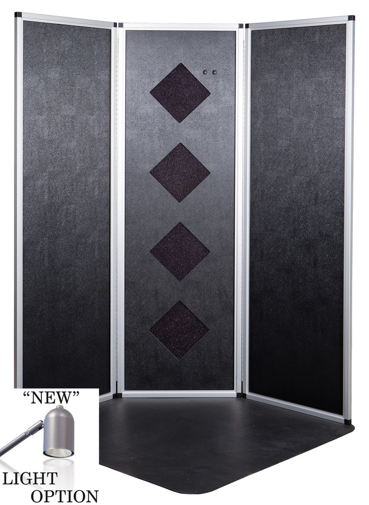 PRO Lite Sunless Over-spray Reduction Booth w/ Lights
