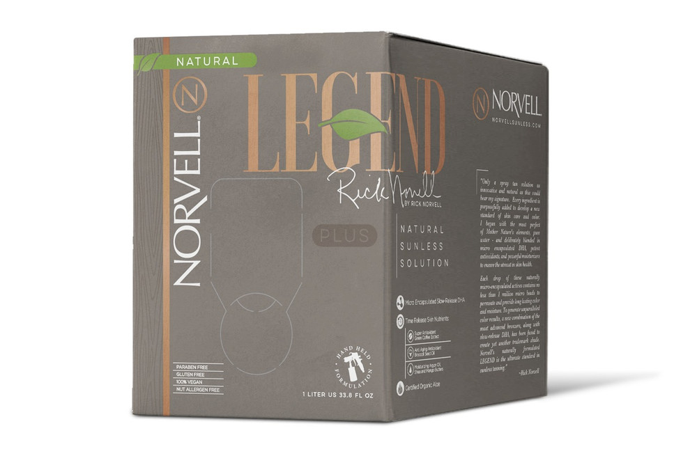 Legend Plus by Rick Norvell Natural Sunless Solution, 34 oz