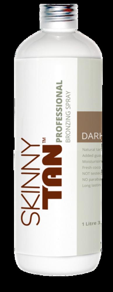 Skinny Tan Professional Bronzing Spray - Dark Tan