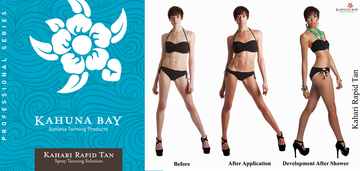Kahari RAPID TAN Fast Developing Spray Tanning Solution