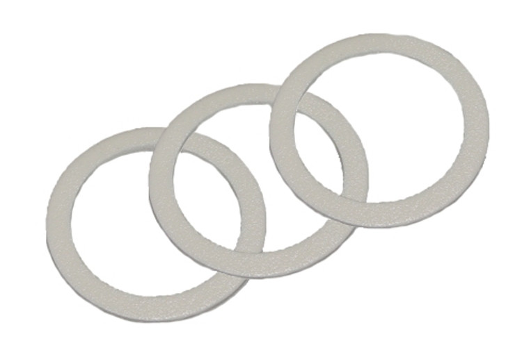 Fuji Spray Universal HVLP Gun and Lid Gasket, 3-Pack