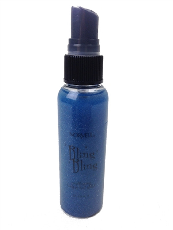 Norvell Bling Bling Shimmer Spray BLUE