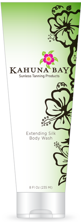 Extending Silk Body Wash 8oz by Kahuna Bay Tan