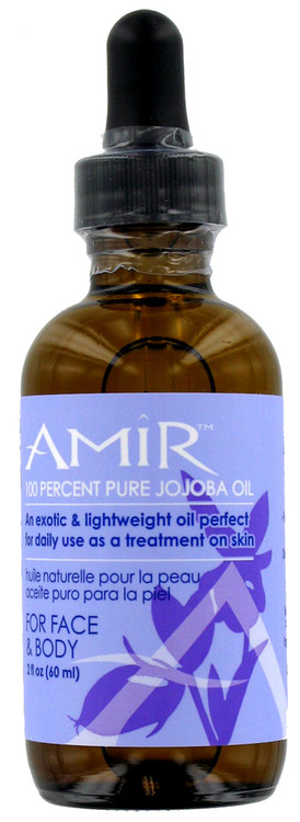 Amir Jojoba Oil for Face and Body 2oz