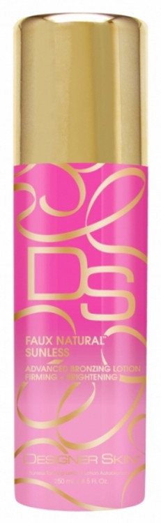 Designer Skin Faux Natural Sunless Bronzing Lotion, 8.5 oz