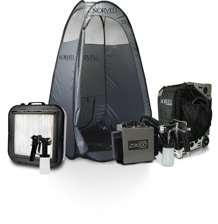 Norvell MOBILE Z3000™ Pro Sunless Travel Kit