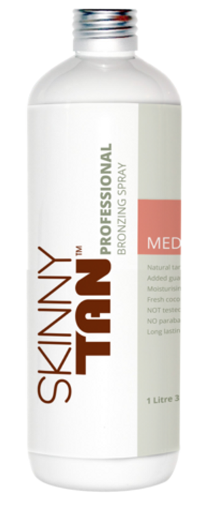 Skinny Tan Professional Bronzing Spray - Medium Tan