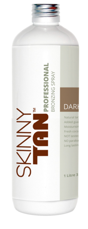 Skinny Tan Professional Bronzing Spray - Dark Tan