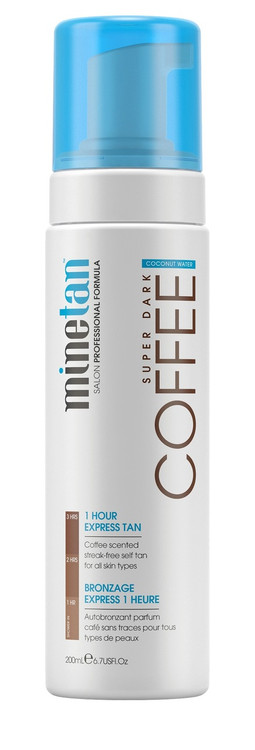 MineTan Coconut Coffee Foam, 6.7 oz