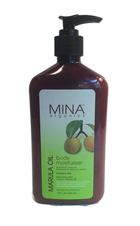 Mina Organics Marula Oil Body Moisturizer, 18 oz
