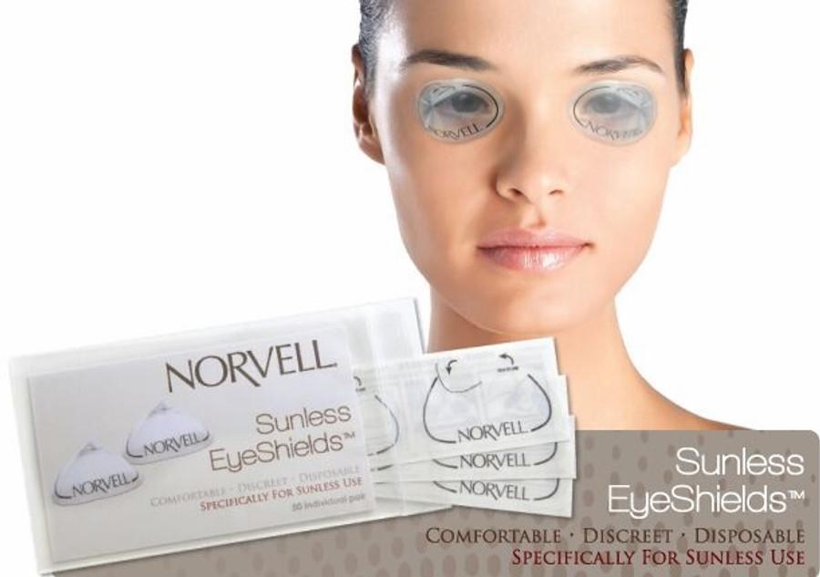Norvell Sunless EyeShields - 50-Pack
