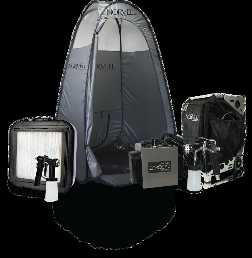 Norvell MOBILE Z3000™ Pro Sunless Travel Kit