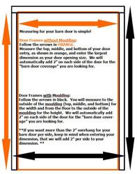 How to Measure your Door Opening for a Barn Door