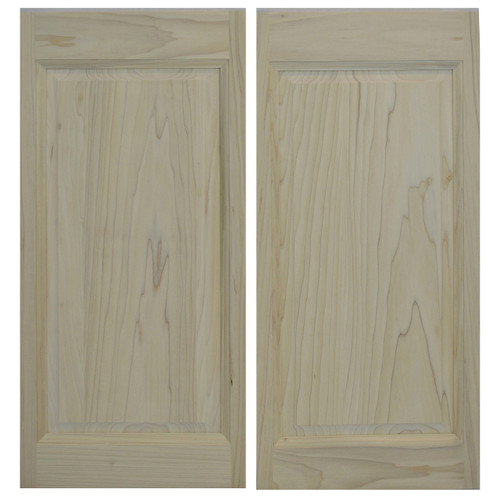 Ranch Raised Panel Saloon Doors | Swinging Cafe Doors