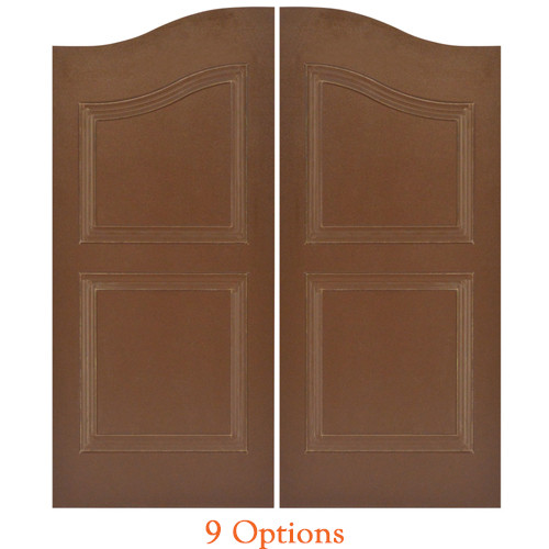 Composite Material Western Saloon Doors | Swinging Cafe Doors
