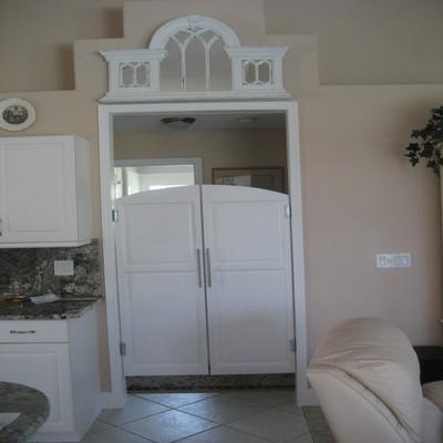 Archway White Saloon Doors