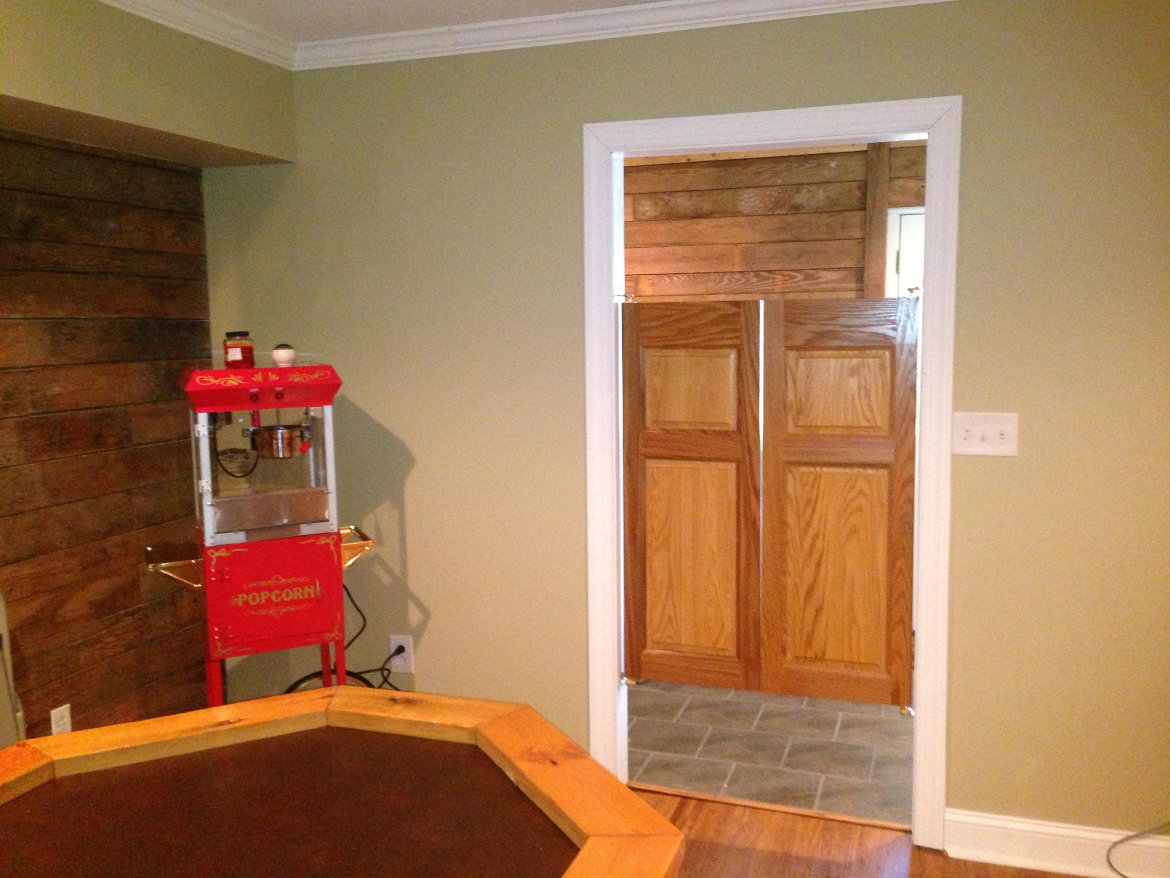 Commercial Oak Saloon Doors