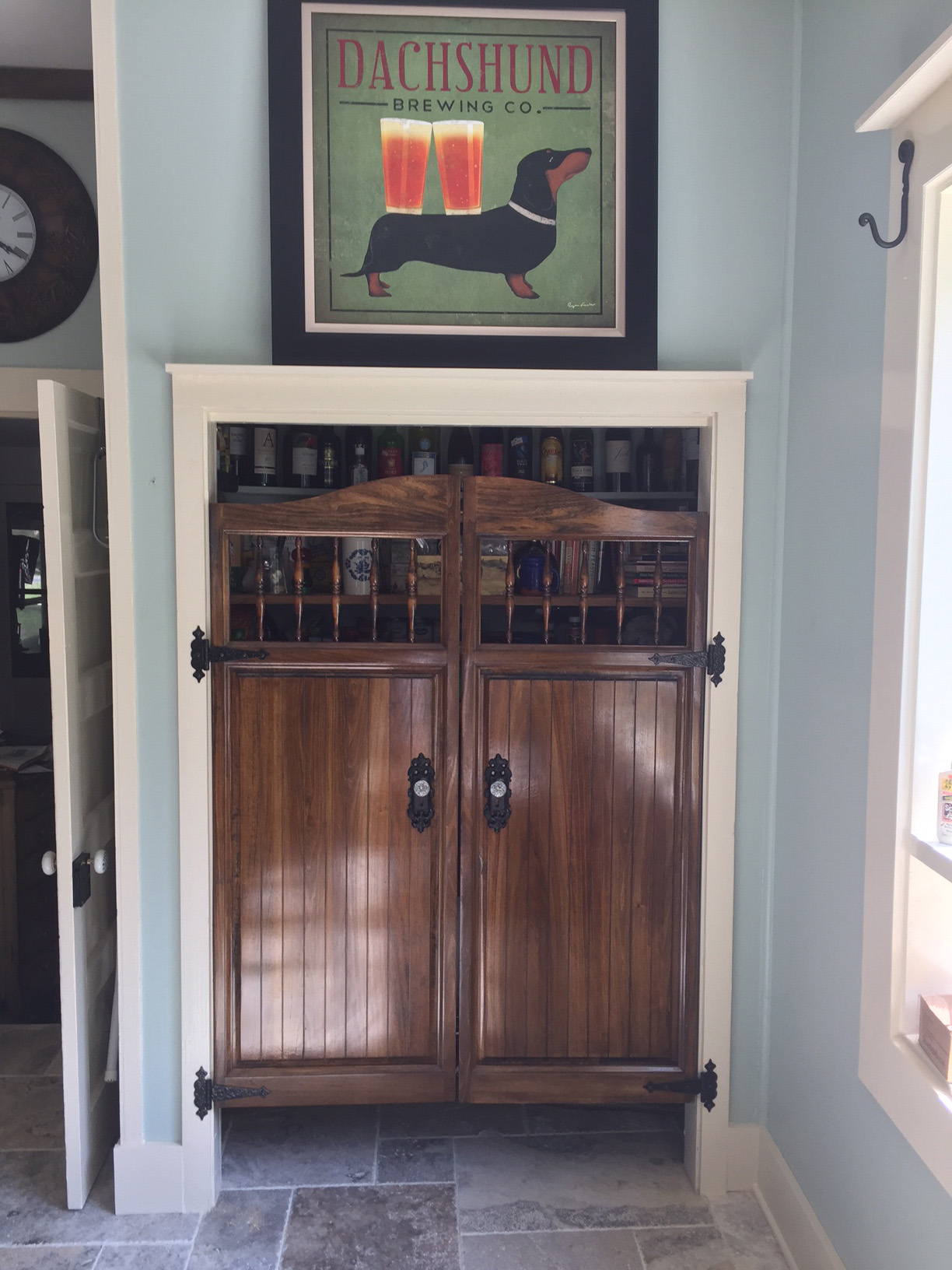 Craftsman Saloon Doors- Pantry Door