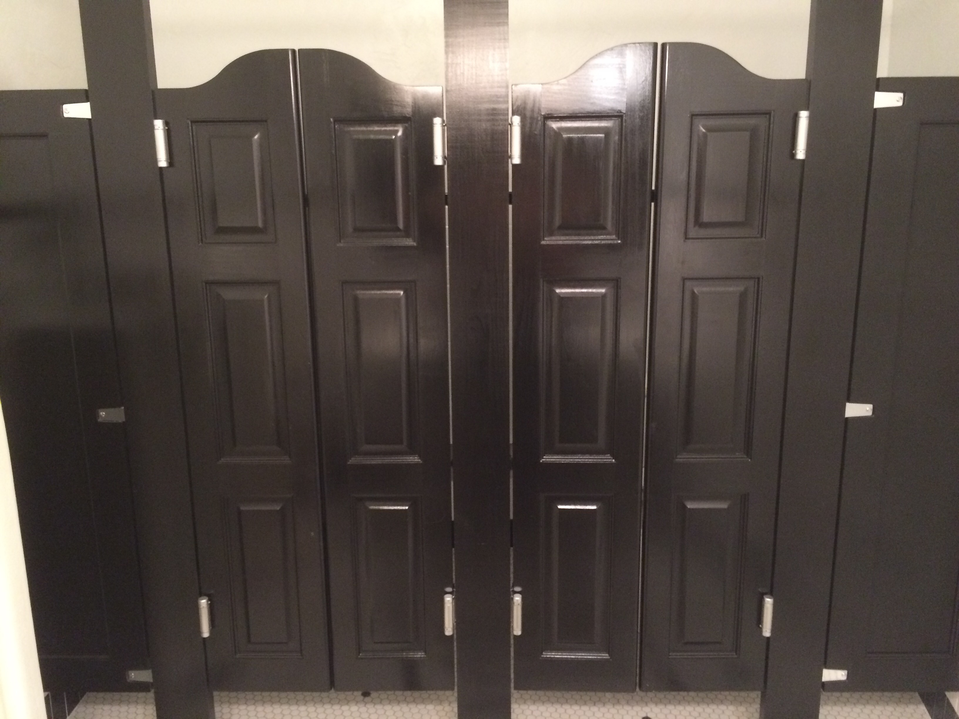 Commercial Bathroom Cafe Doors