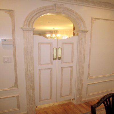 Custom Cafe Doors- Arched Top