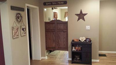 Kitchen Swing Door Oak