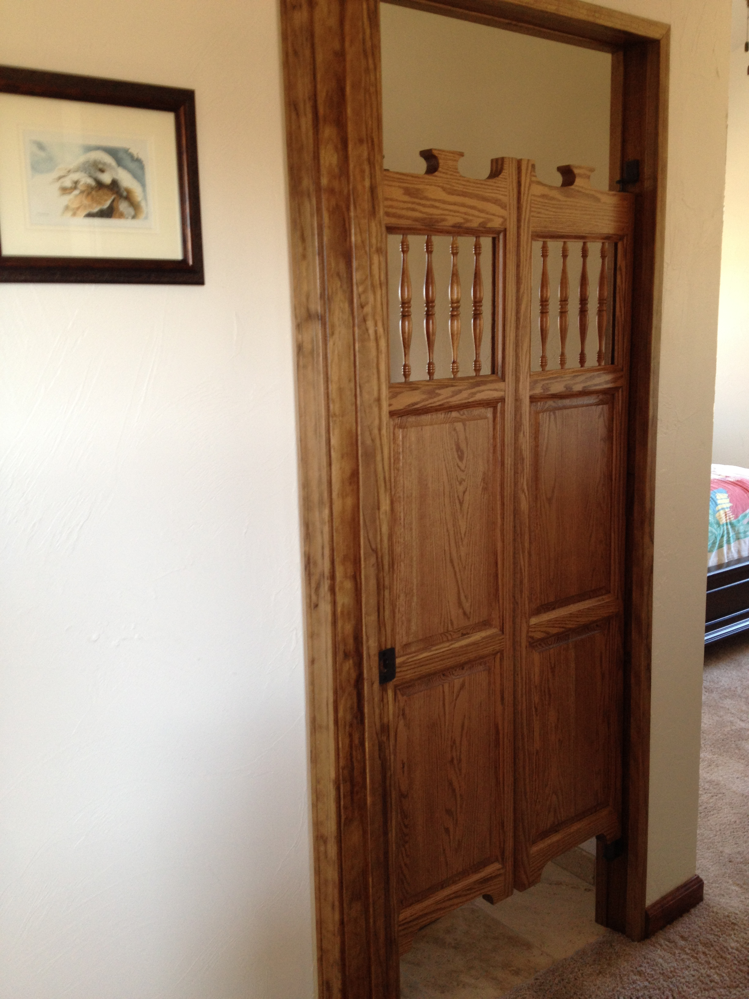 Old Western Saloon Doors