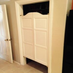 White Saloon Pantry Doors