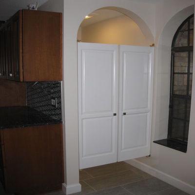 Water Closet Cafe Doors