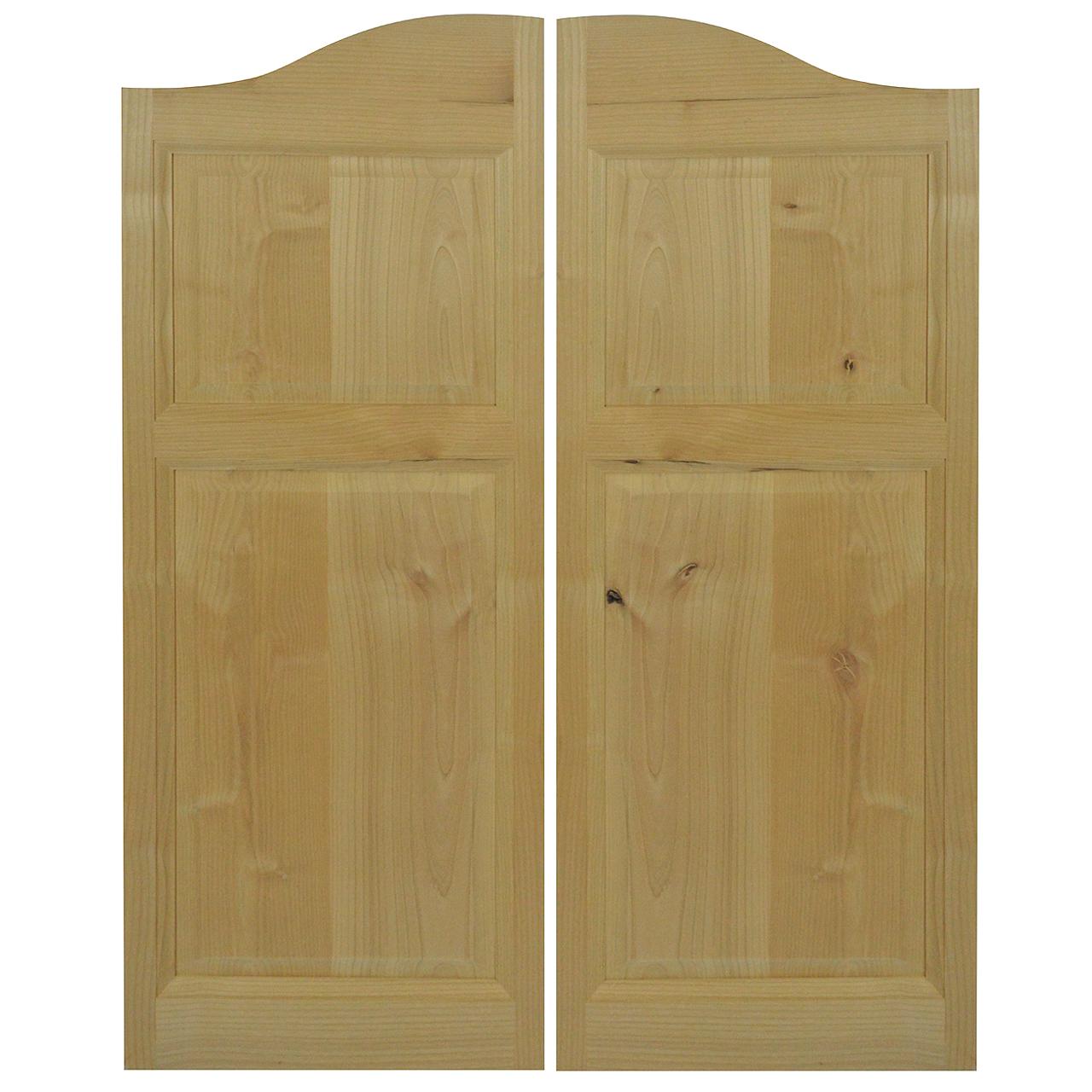 Rustic Alder Cafe Doors